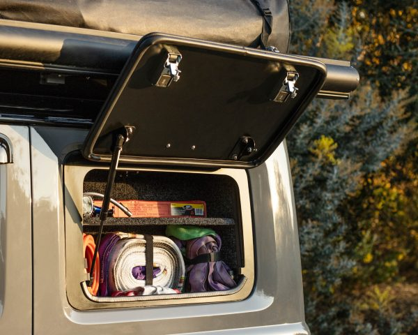 suzuki jimny gullwing and cupboard - bushtech